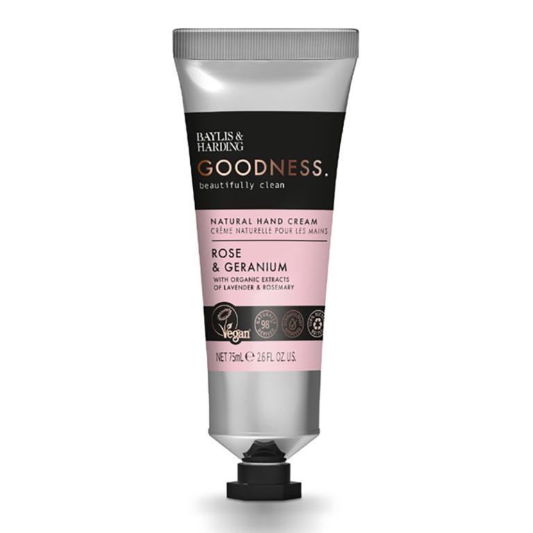 Baylis & Harding Hand Cream 75ml - Rose & Geranium