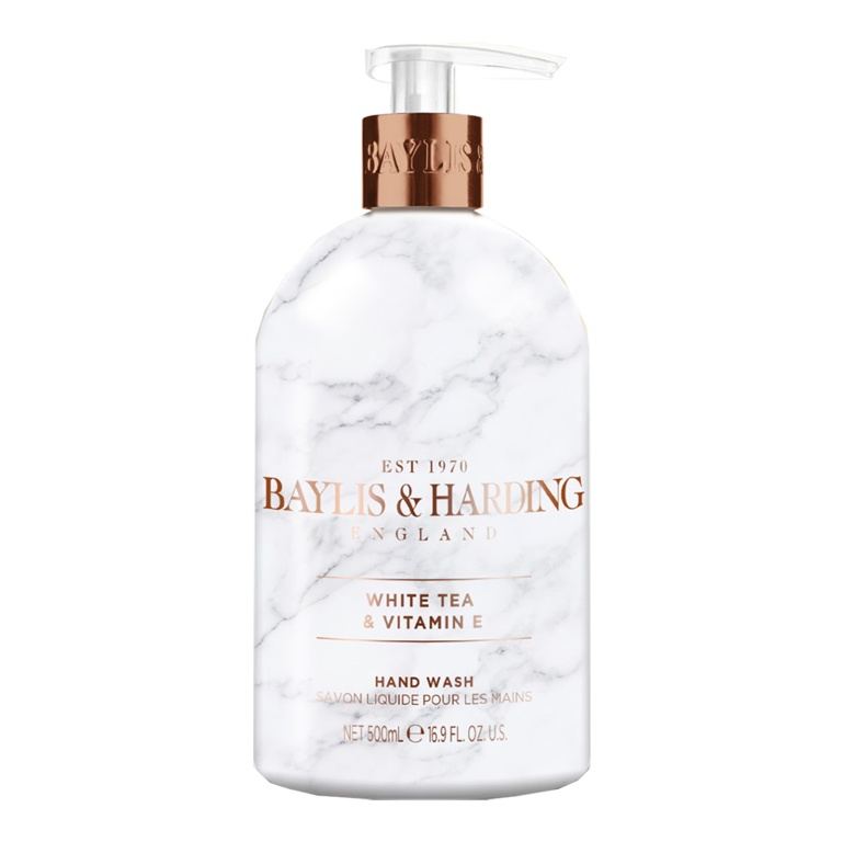 Baylis & Harding Hand Wash 500ml - White Tea & Neroli
