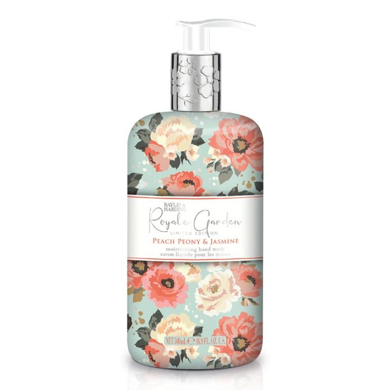 Baylis & Harding Hand Wash 500ml - Peach Peony