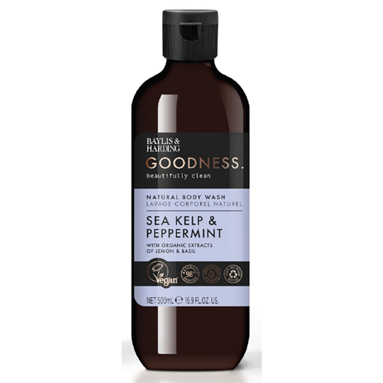 Baylis & Harding Bodywash 500ml - Sea Kelp & Peppermint