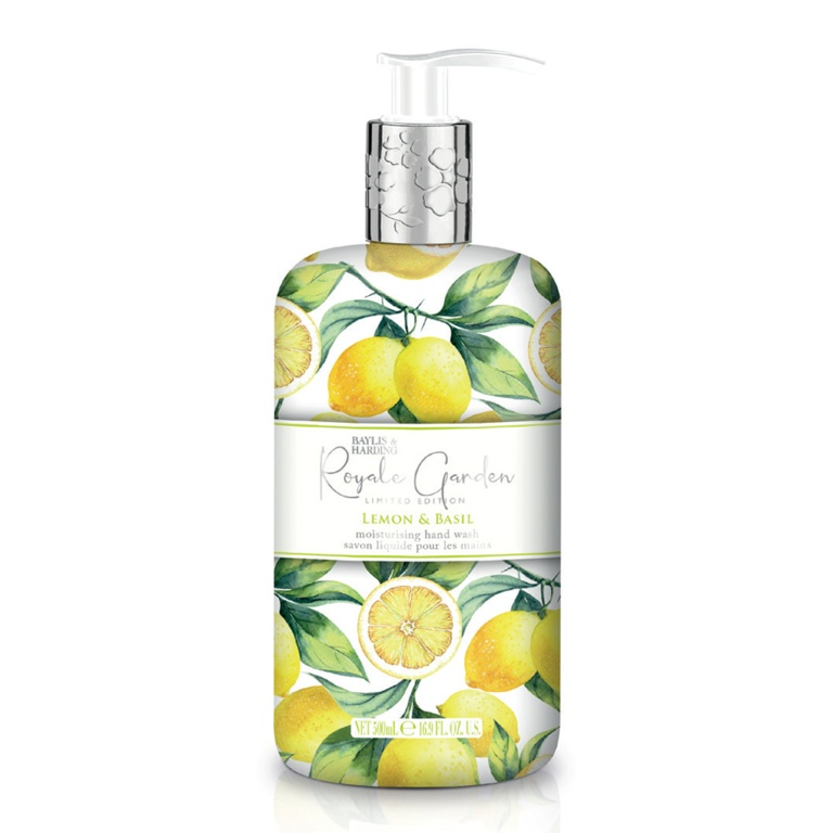 Baylis & Harding Hand Wash 500ml - Lemon & Basil