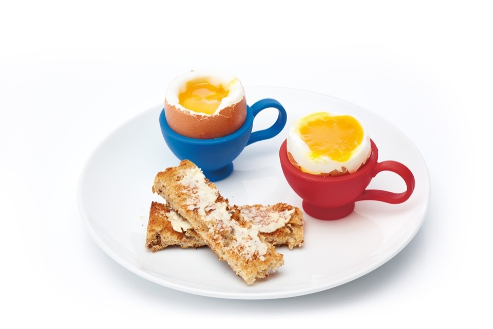 Colourworks Silicone Egg Cup - Assorted Colours Available