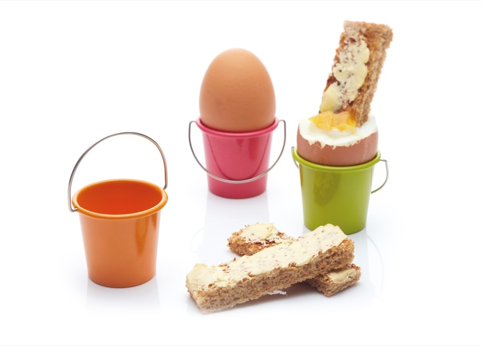 Colourworks Egg Cup Bucket - Assorted Colours Available