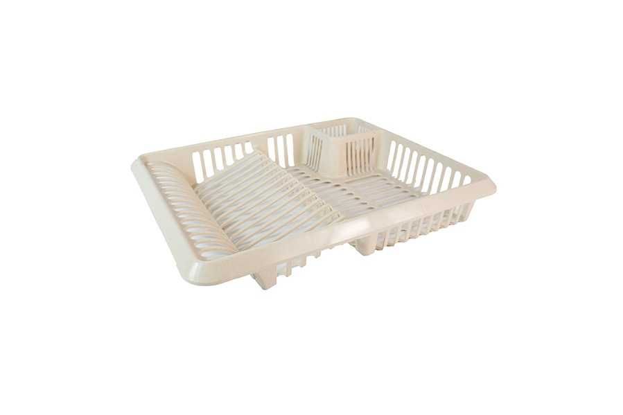 TML Cutlery Dish Drainer - Large Taupe