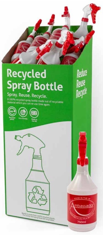 Ambassador Recycled Sprayer 750ml - Display Unit of 50
