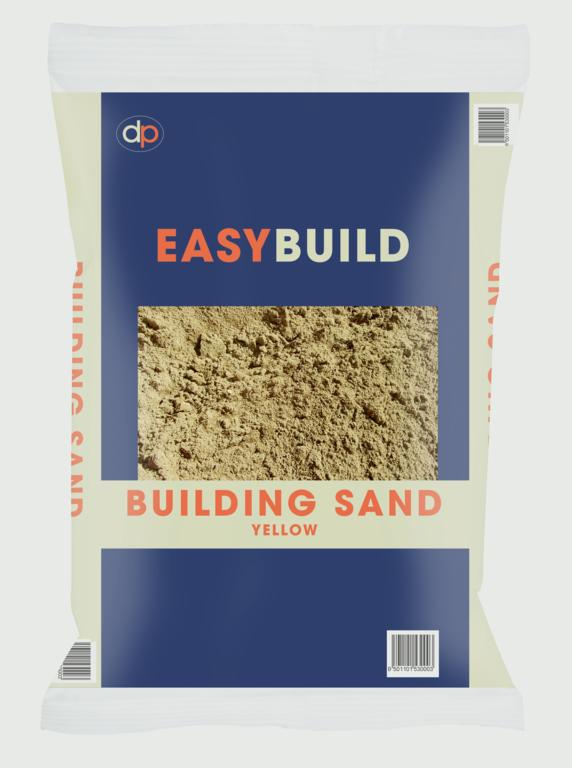 Deco-Pak Yellow Building Sand - 25kg Trade Pack