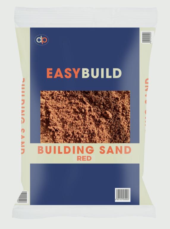 Deco-Pak Red Building Sand - 25kg Trade Pack