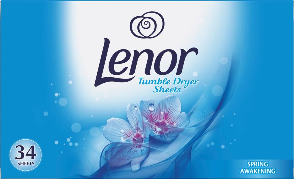 Lenor Tumble Dryer Sheets - Spring Awakening Pack 34
