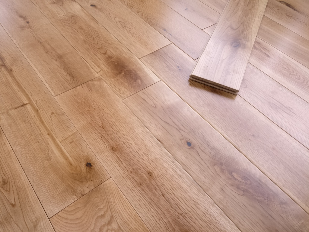 Y.T.D Limited Solid Oak Flooring 18 x 125mm x Random Length - 1.2m2