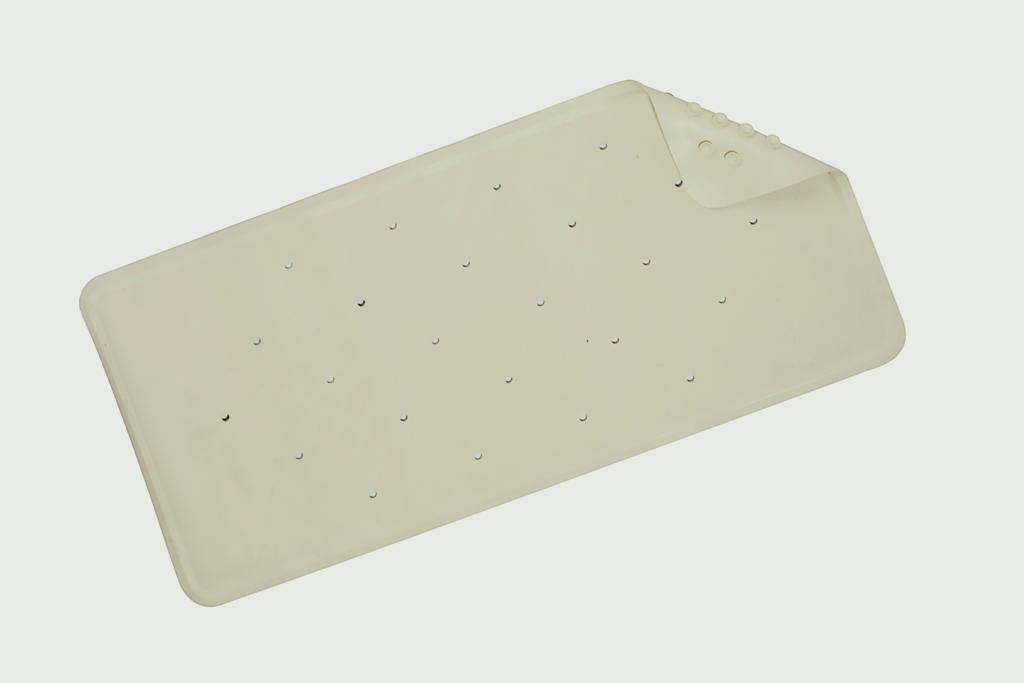 Croydex Basics Rubber Bath Mat - Beige