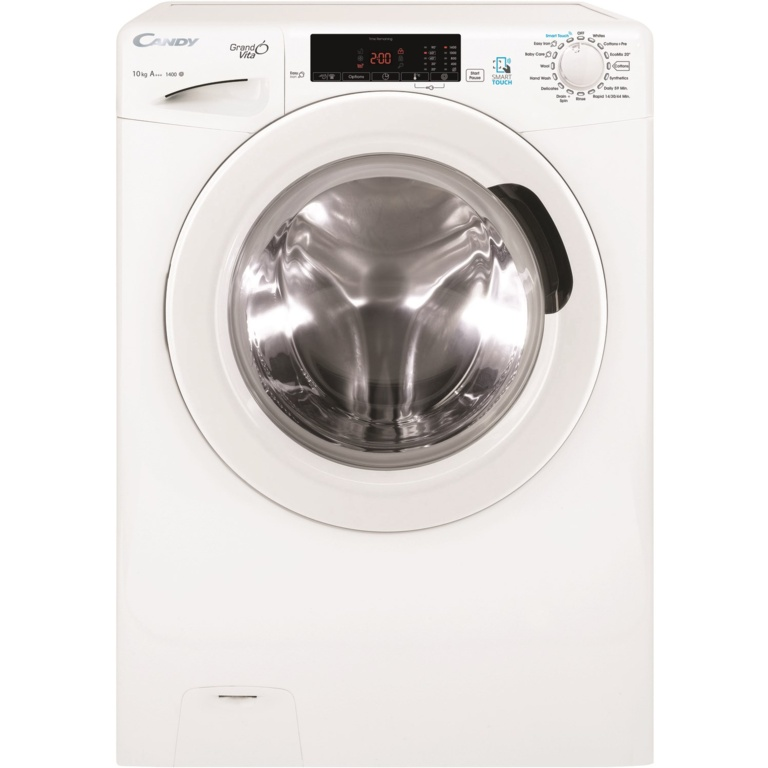 Candy Smart 1400rpm Free Standing Washing Machine - 10kg White