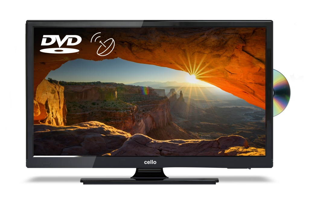 Cello TV DVD Combi With Satellite Tuner - 22""