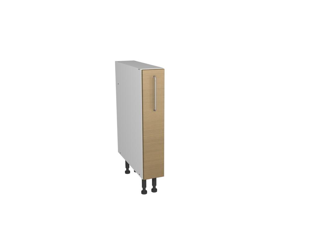 Gower Rapide+ Lisbon Oak Pull Out Cabinet - 150mm