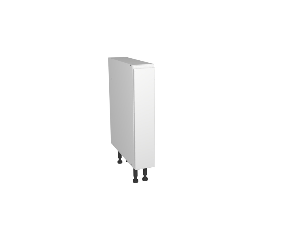 Gower Rapide+ Capri White Pull Out Cabinet - 150mm