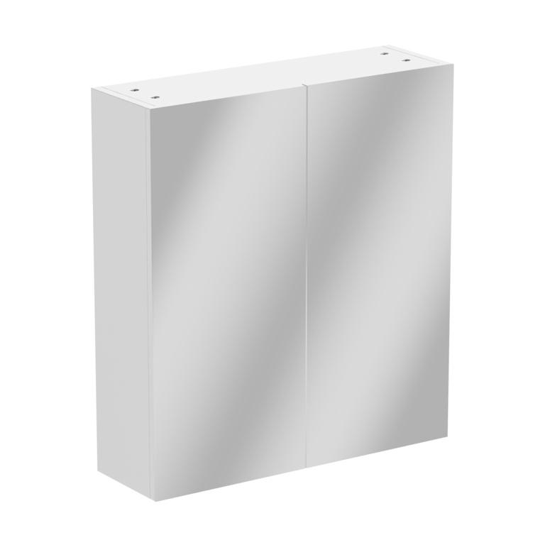 SP Rydal Modular Double Door Mirror Wall Unit - W: 600mm x H: 660mm x D: 185mm