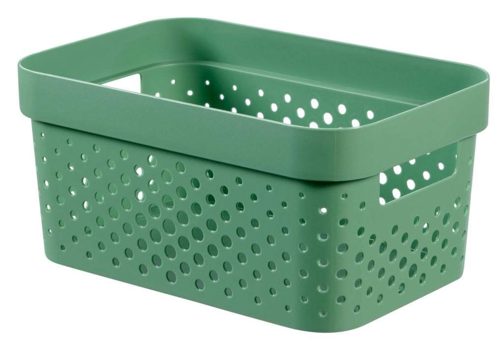 Curver Infinity Dots Box - 4.5L Shale Green