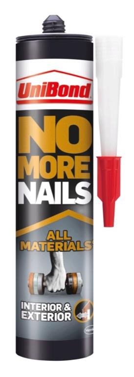 UniBond No More Nails All Materials - Interior/Exterior