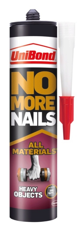 UniBond No More Nails All Materials - Heavy Objects