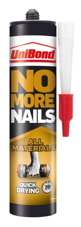 UniBond No More Nails All Materials - Quick Drying