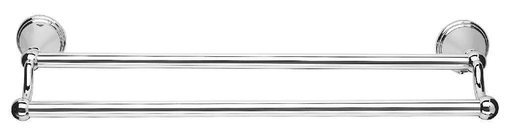 Croydex Double Towel Rail - 18""