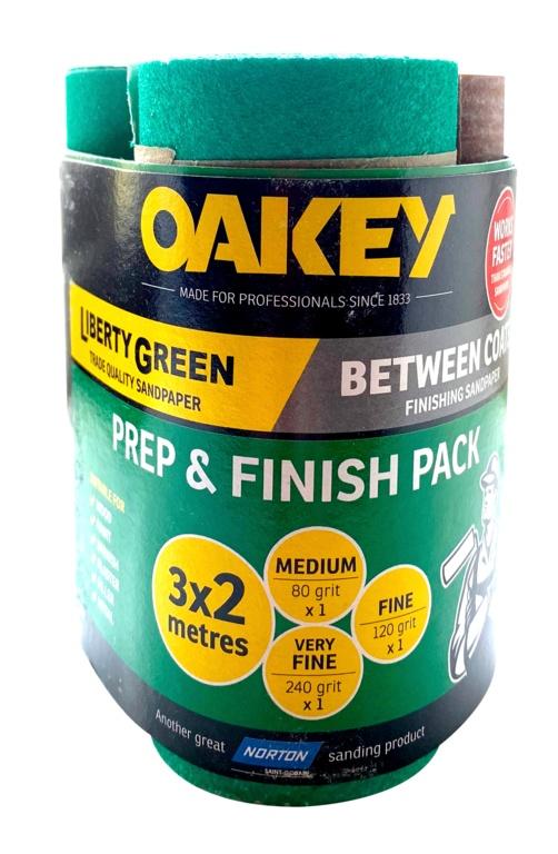 Oakey Prep & Finish 2m - Triple Pack