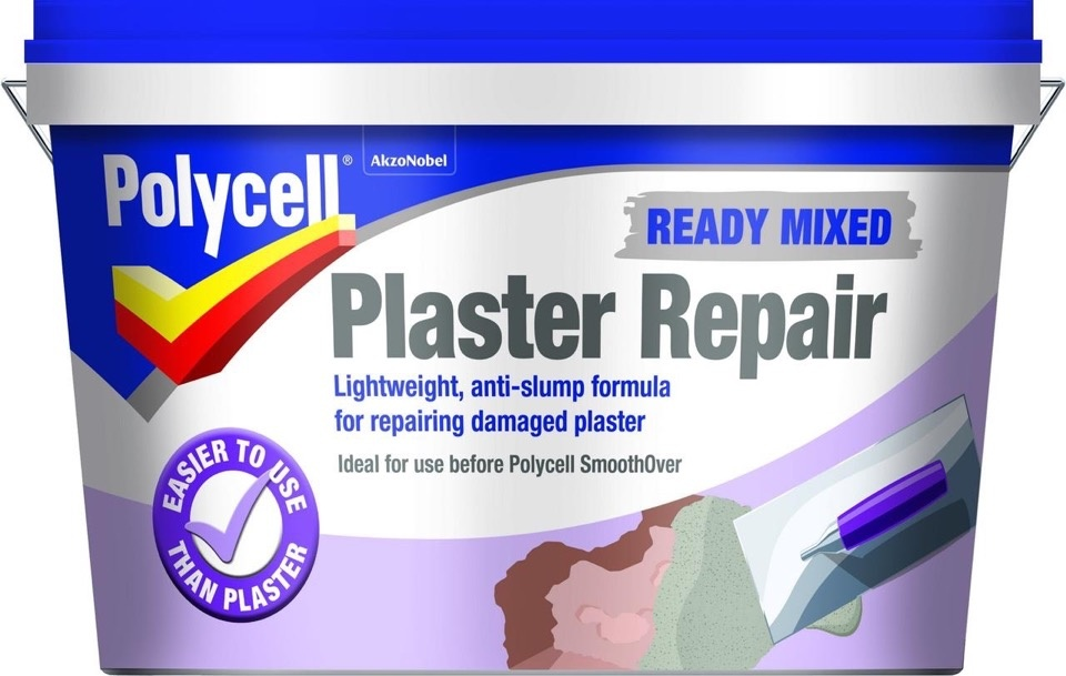 Polycell Ready Mixed Plaster Repair - 2.5L