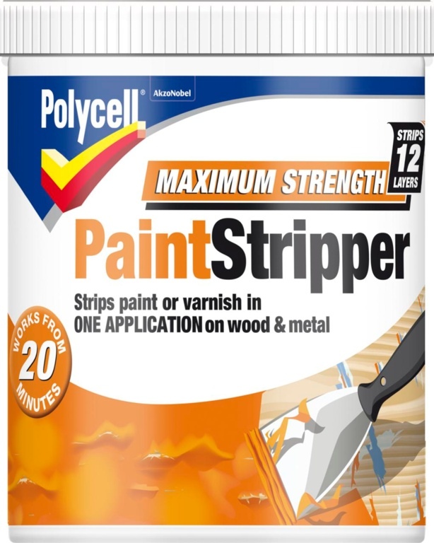 Polycell Max Strength Paint Stripper - 1L