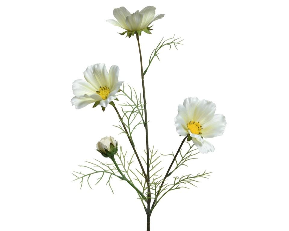 Kaemingk PES Coreopsis On Stem - White