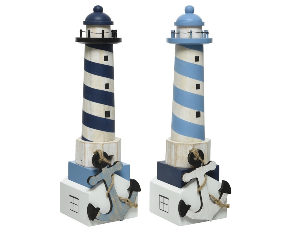 Kaemingk Pinewood Lighthouse - Assorted