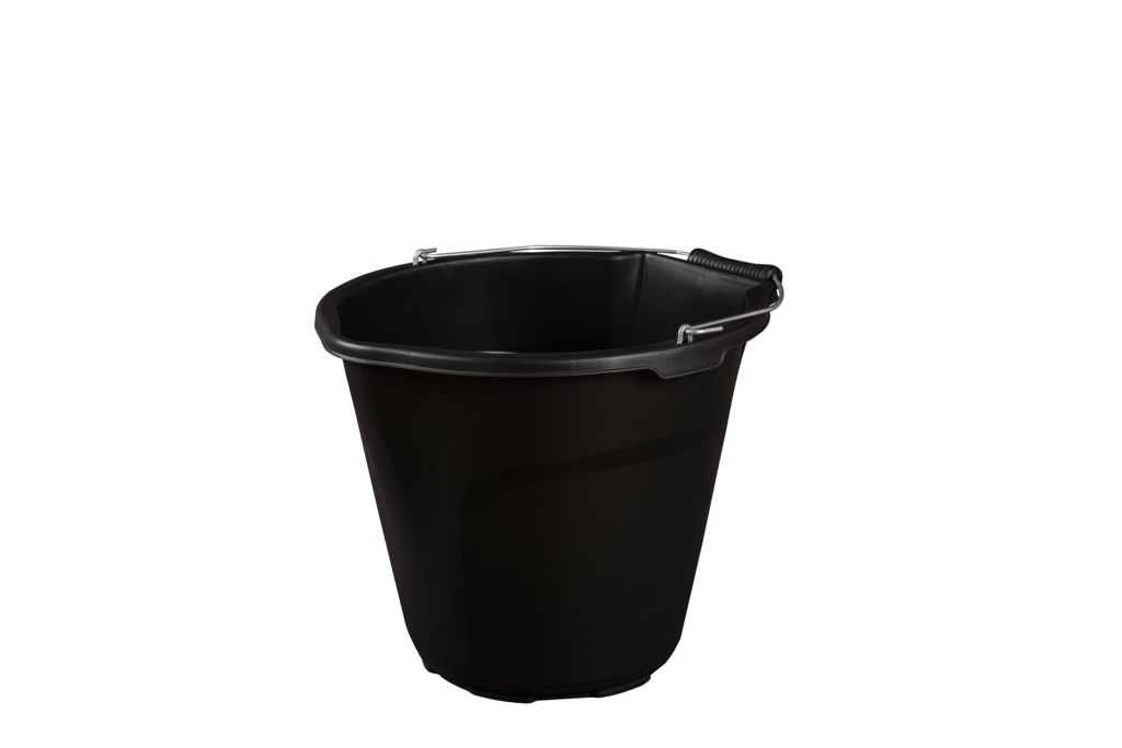 Strata Heavy Duty Pour & Scoop Bucket - 14L Black