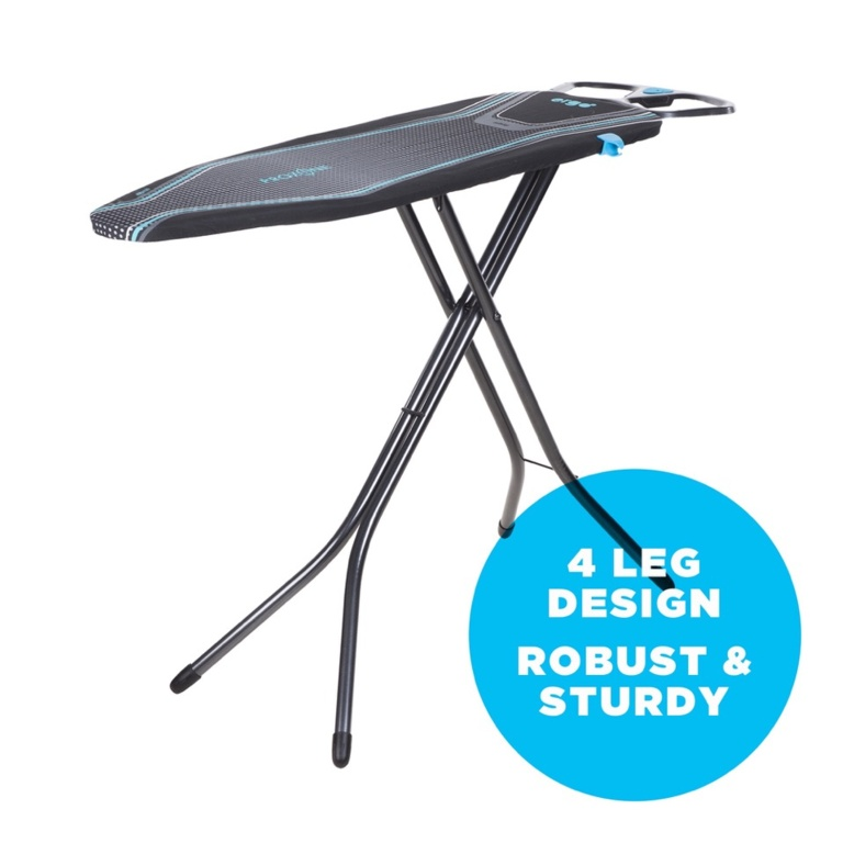 Minky Ergo Prozone Ironing Board & Cover - Blue