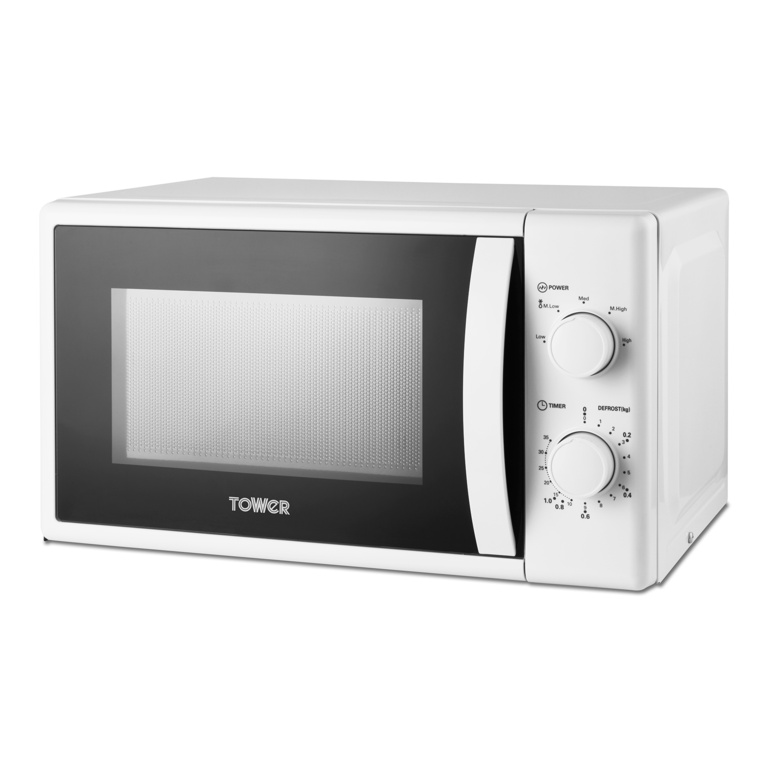 Tower 20L Manual Microwave - 700w White
