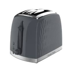 Russell Hobbs Honeycomb Textured Toaster - 2 Slice