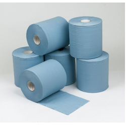 Concept 2 Ply Blue Centre Feed Rolls