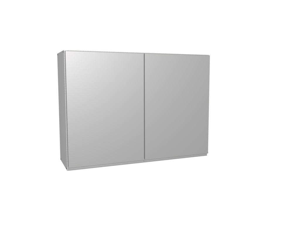 Gower Rapide+ Capri Grey Wall Unit - 1000mm