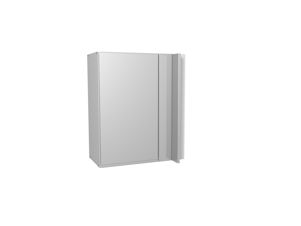 Gower Rapide+ Corner Wall Unit 600mm - Capri Grey