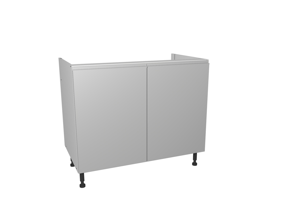 Gower Rapide+ Base Unit 1000mm - Capri Grey