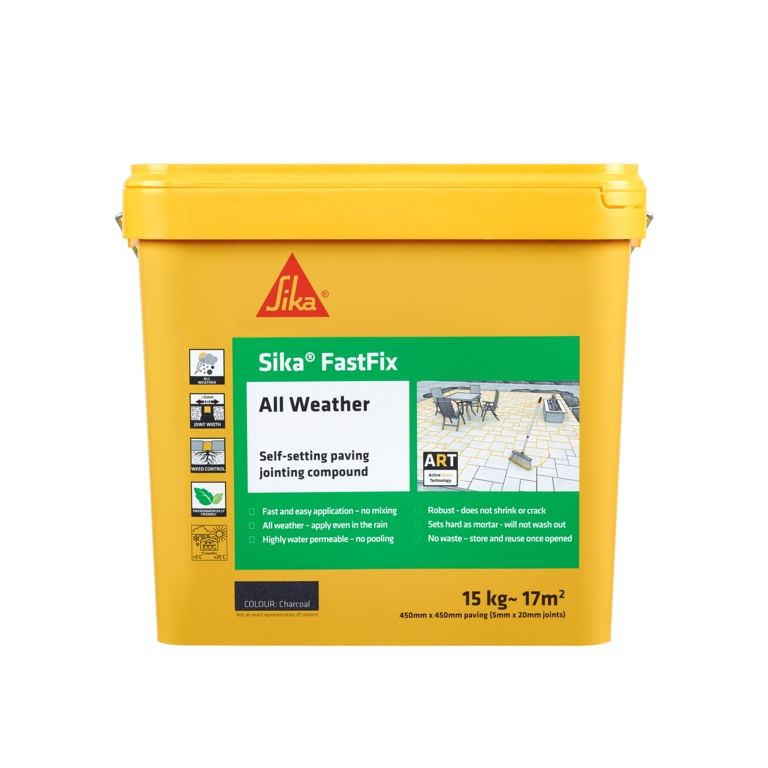 Sika Fastfix All Weather Jointing Compound - Charcoal 15kg