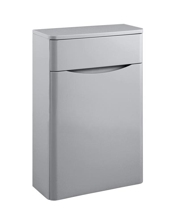 SP Ocata Grey WC Unit - W: 500mm x H: 795mm x D: 200mm