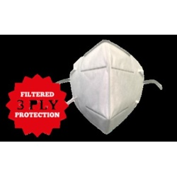 1St Aid Disposable KN95 Face Mask - 3 Pack