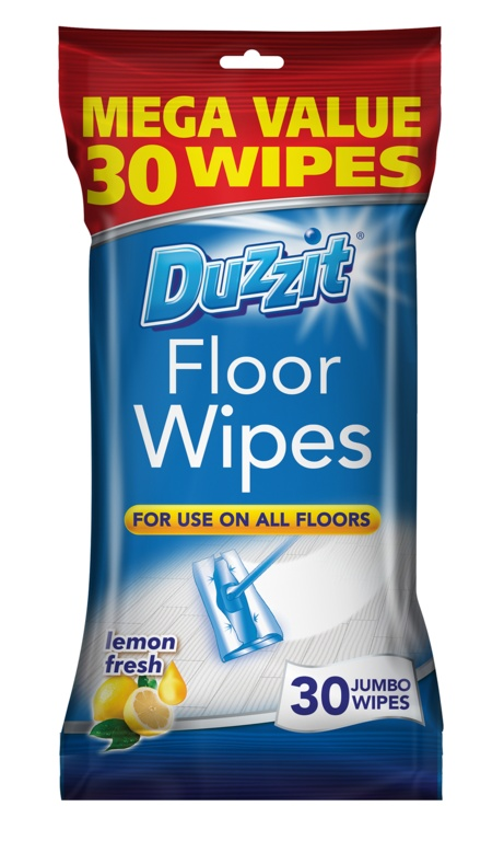 Duzzit Floor Wipes - Pack 30