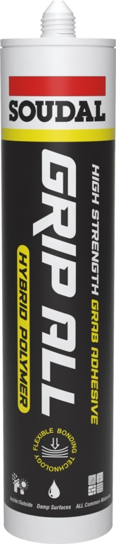 Soudal Grip All Hybrid Polymer - White Cartridge