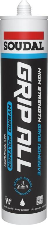 Soudal Grip All Hybrid Polymer - Clear Cartridge