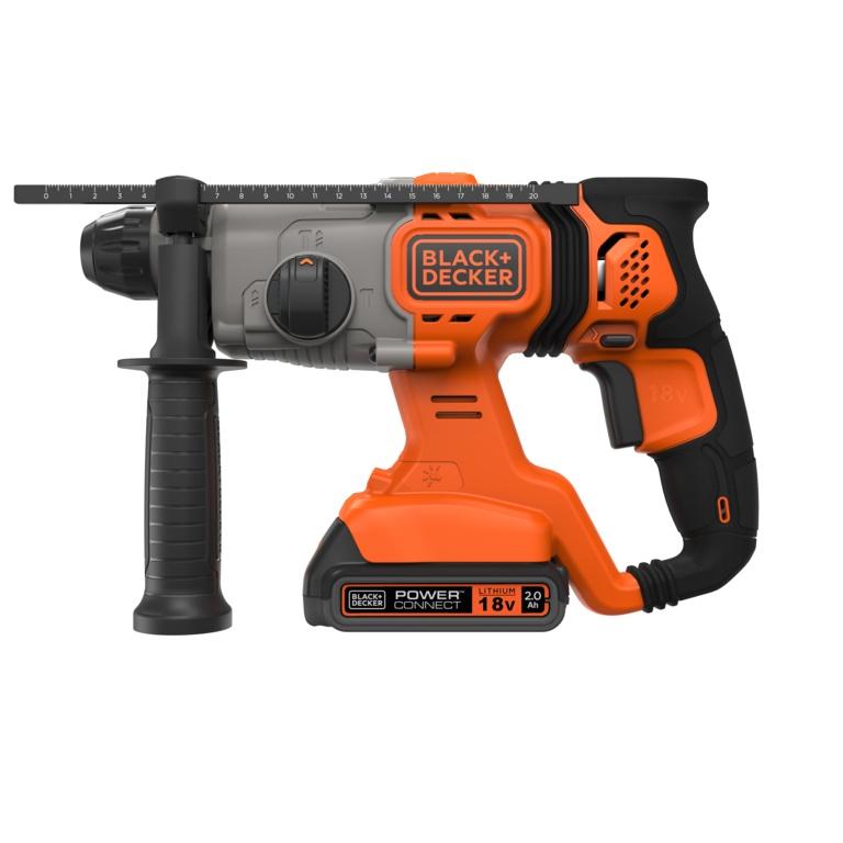Black & Decker Ion Sds Hammer Drill - 18v