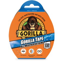 Gorilla All Weather Tape Black