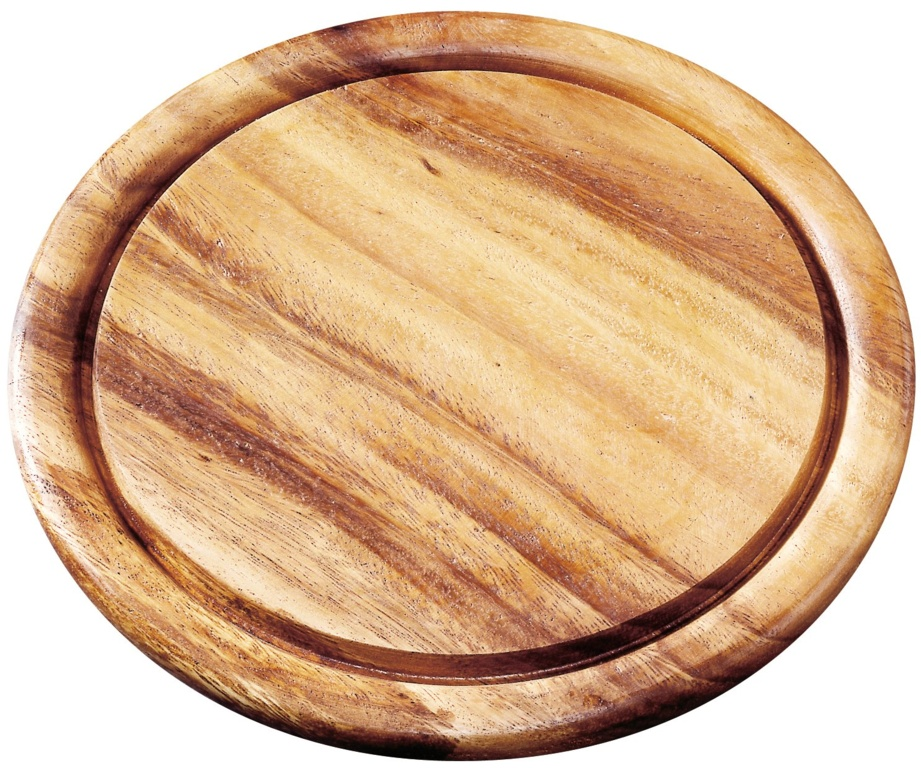 Fackelmann Hard Wood Cutting Board - Round 25cm