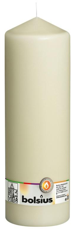 Bolsius Pillar Candle - Ivory 300/98