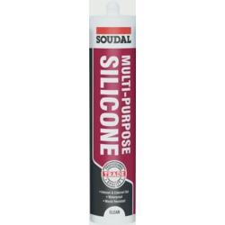 Soudal Multi Purpose Silicone Clear 270ml