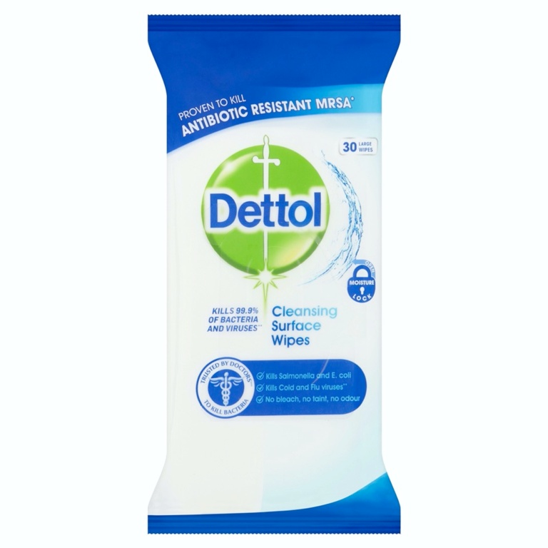 Dettol Surface Wipes - Pack 30