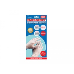 Large Midweight Disposable Gloves Pack 100